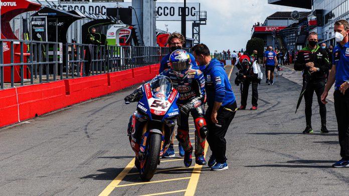 Race1 WorldSBK 2021 Inggris