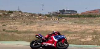 Marquez Pakai Honda CBR600RR