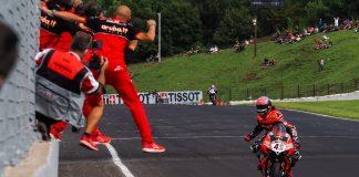 Race2 WorldSBK 2021 Ceko
