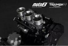 Mesin Triumph Moto2 Diperpanjang