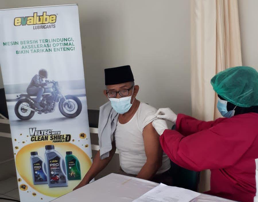 Evalube Gelar Program Vaksinasi