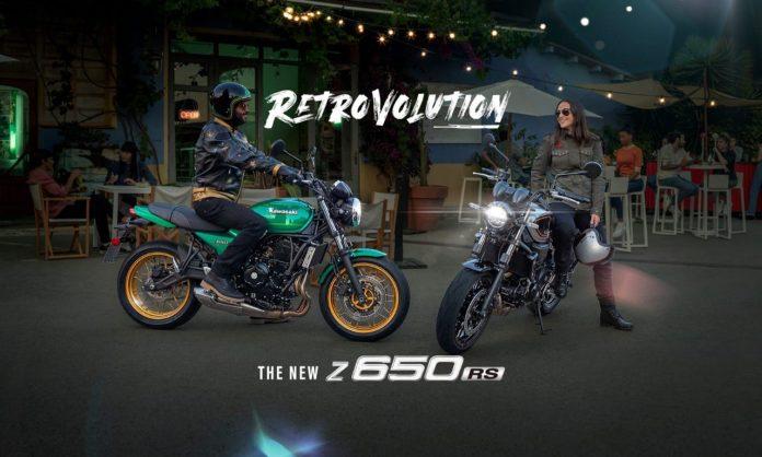 Kawasaki Z650RS Meluncur