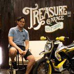 Imanuel Prakoso, builder Yard Built Indonesia (Treasure Garage) dengan XSR 155 Modern Futuristic Supermoto(1)