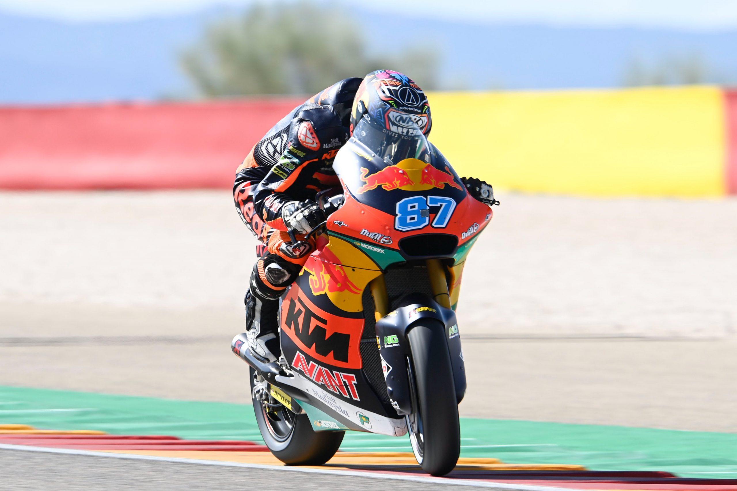 FP2 Moto2 Aragon 2021