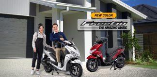 Warna Baru Yamaha FreeGo
