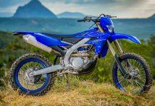 Yamaha WR250F WR450F 2022