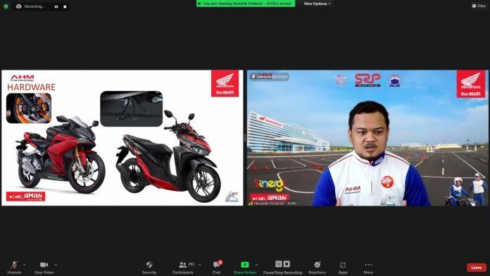 Webinar Keselamatan Berkendara Honda