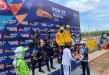 Hasil balap motor PON XX Papua
