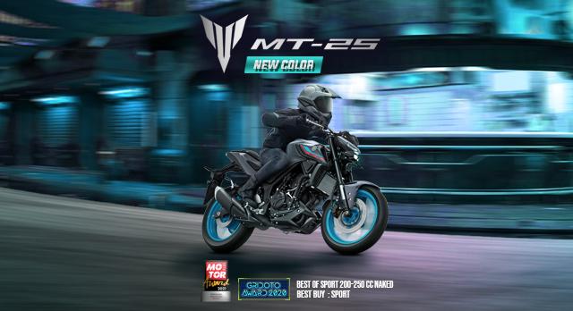 Warna Baru Yamaha MT-25